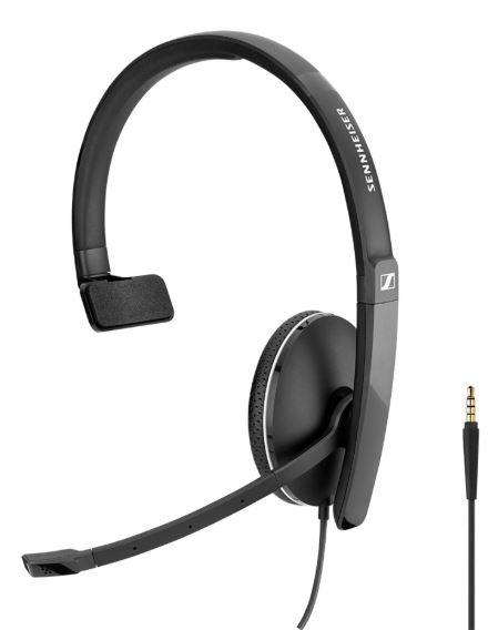 Sennheiser SC 135 USB + 3.5mm Monaural Headset