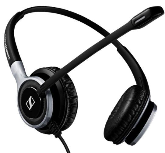 Sennheiser Century SC 665 Binaural Wired Headset (3.5 mm Connectivity)