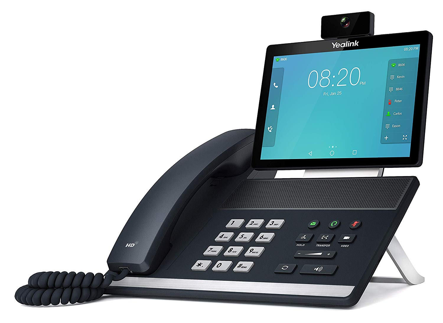 Yealink VP59 IP Video Desk Phone Compatible with Microsoft® Teams
