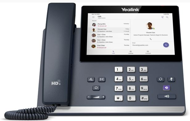 Yealink MP56 IP Phone Compatible with Microsoft® Teams