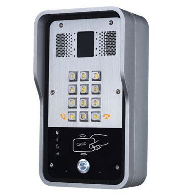 Fanvil i23S - Single button SIP intercom with Keypad and RFID Reader (IP65 rated)