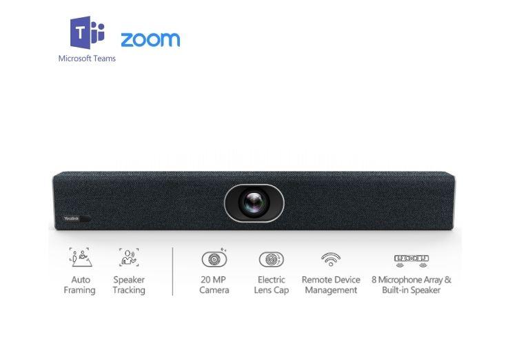 Yealink 4K Video Soundbar USB Camera/Speaker/MIC