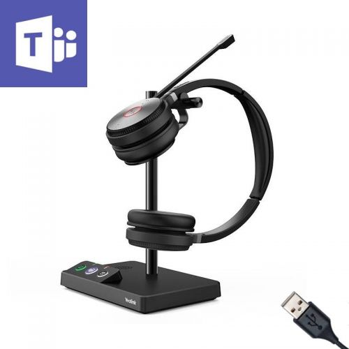 Yealink WH62 Dual Ear DECT Headset