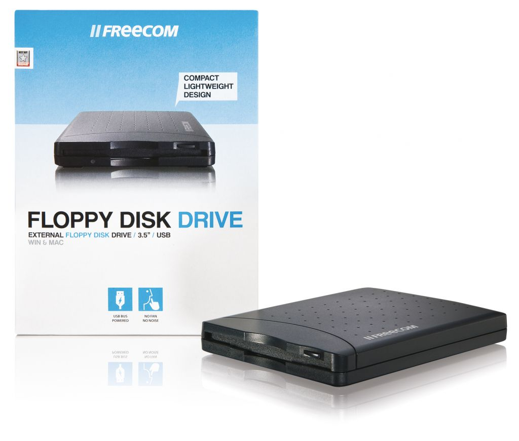 Freecom USB Floppy Disk Drive Black
