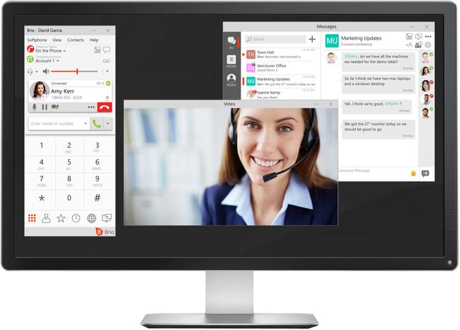 CounterPath Bria Enterprise Desktop Device Licence (Annual Billing)