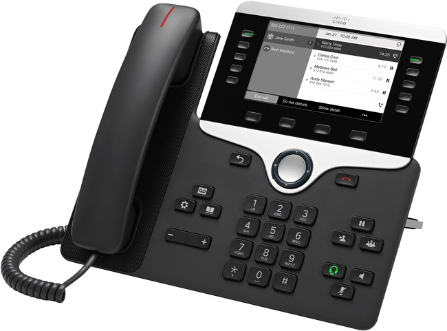 Cisco 8811 Multiplatform SIP Phone
