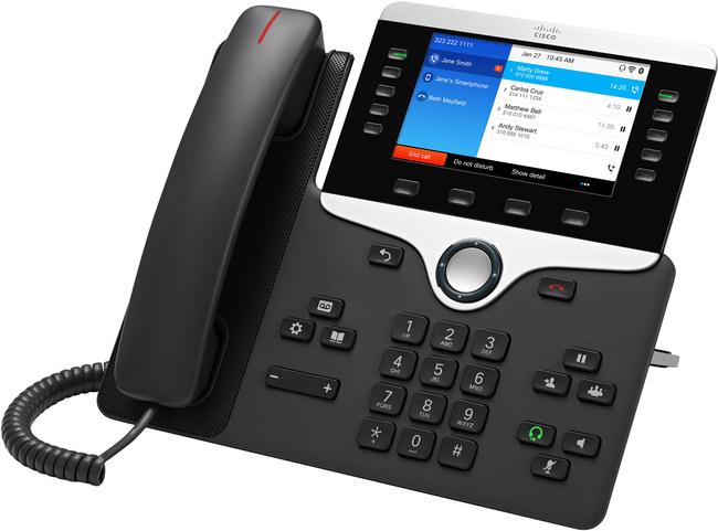 Cisco 8861 Multiplatform SIP Phone