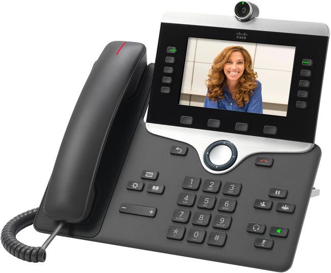 Cisco 8865 Multiplatform SIP Video Phone