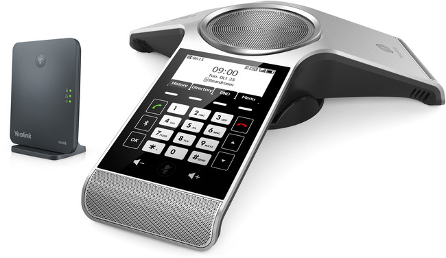 Yealink CP930W Wireless DECT Conference Phone with W60 Base Station
