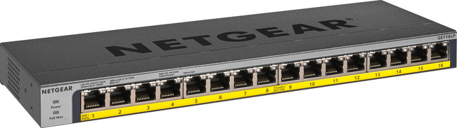 Netgear 16 Port Gigabit Ethernet Unmanaged Switch