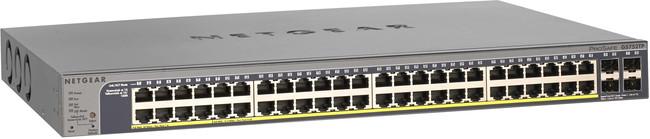 Netgear GS752TP 48 Port (48 PoE), 4x SFP, 10/100/1000, Smart Switch