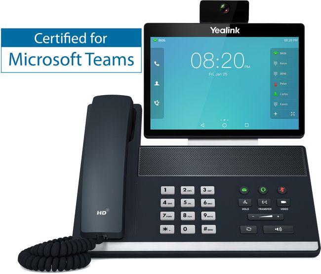 Yealink VP59 IP Video Desk Phone Compatible with Microsoft® Teams
