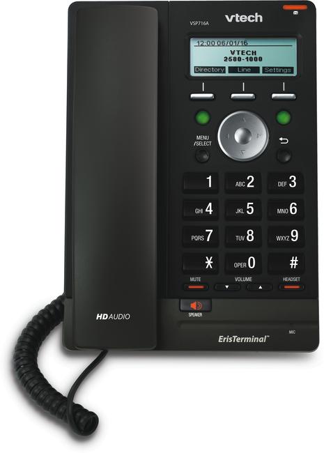 VTech VSP716A ErisTerminal SIP Deskphone (Gen 2)
