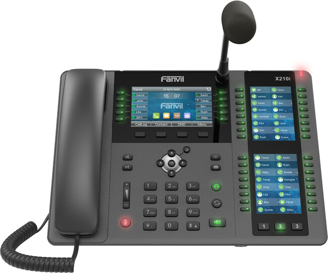 Fanvil X210i Reception Phone with Gooseneck Microphone